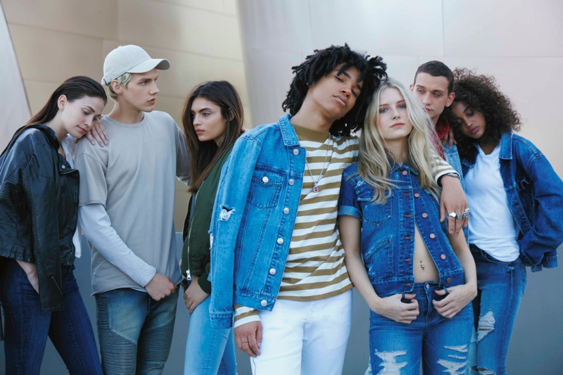 PacSun Denim 2016 Campaign featuring Lottie Moss