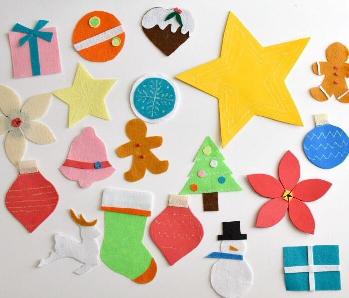 Diy rbol de navidad para ni os bizcochos y sancochos - Arbol de navidad para ninos ...