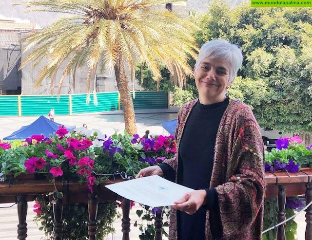 La abogada Ana María Montesinos Afonso, Mujer Destacada 2019 de Los Llanos de Aridane