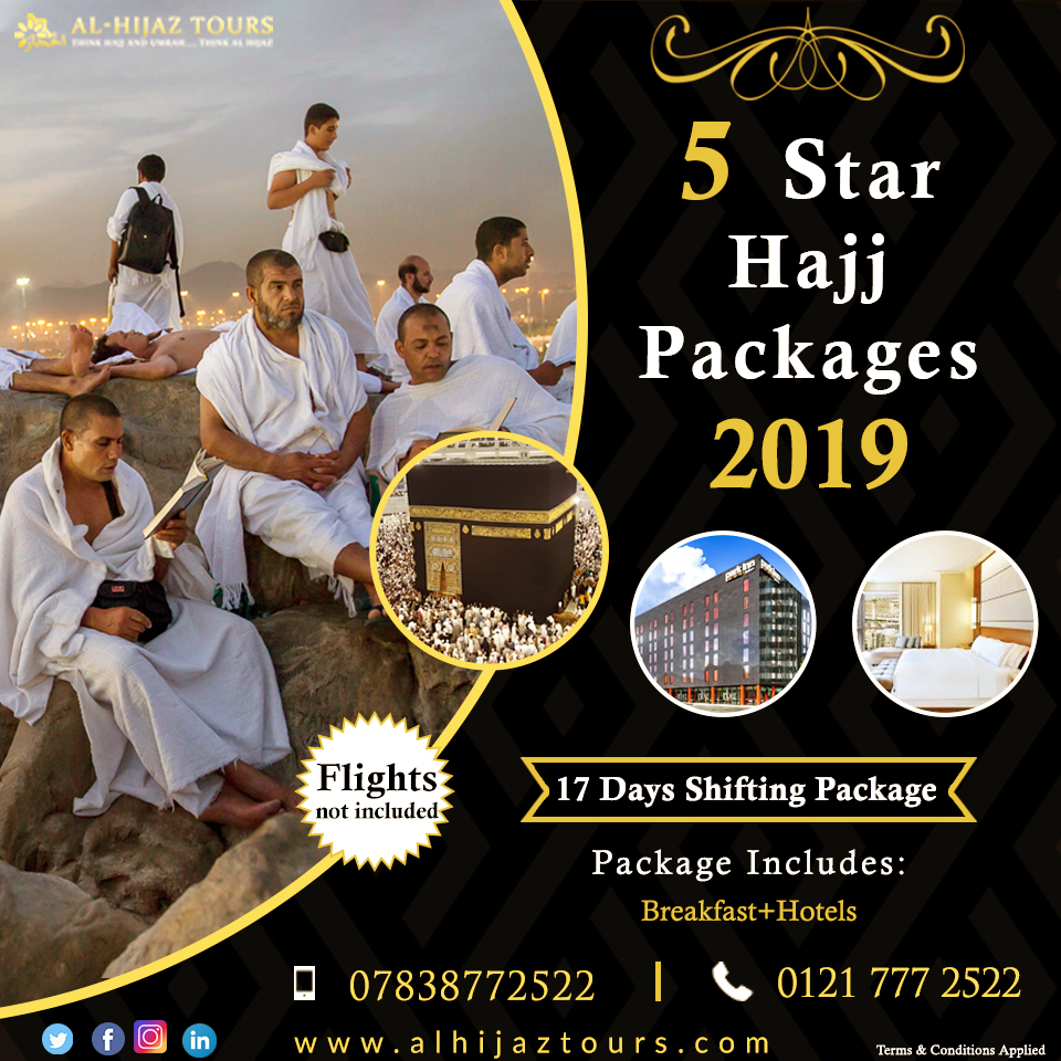 Get the chance of forgiveness with hajj package 2019