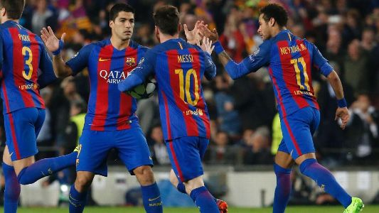 Barca does the unbelievable! Defeats PSG 6-1 at home to go through after 4-0 1st leg result