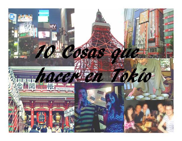 10 cosas que hacer en Tokyo, Japon