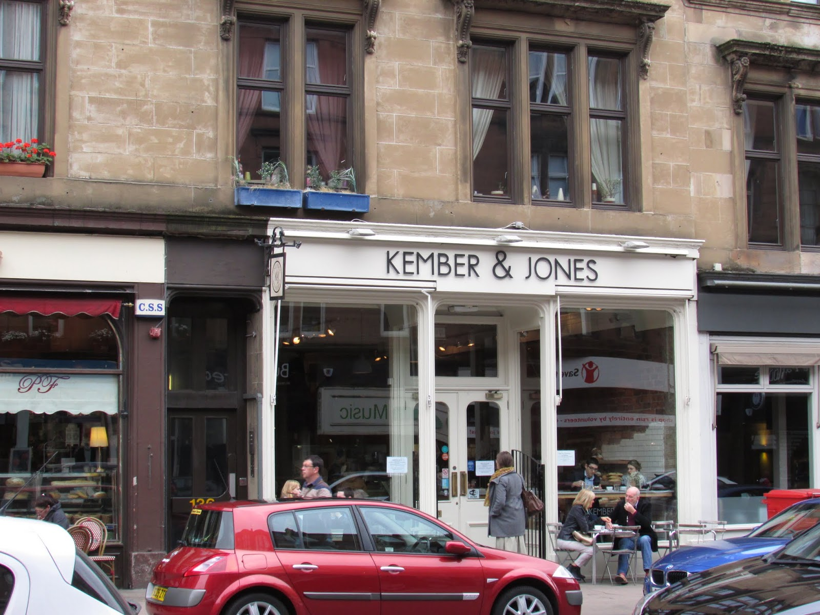 The Secret Life of Maggie May- City Guide to Glasgow, Kember and Jones