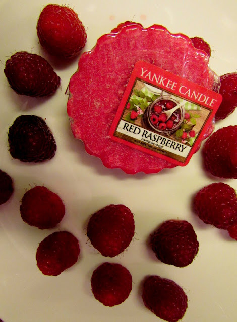 Red Raspberry Wosk Yankee Candle