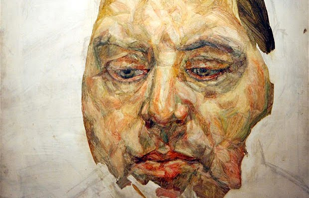 lucian freud Portrait of Francis Bacon