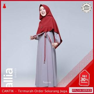 Jual RRJ108D74 Dress Muslim Callia Wanita Dress Sy Terbaru BMGShop