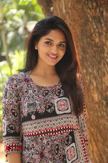 Actress Sunaina Latest Stills in Floral Dress at Pelliki Mundu Prema Katha Trailer Launch  0035.JPG