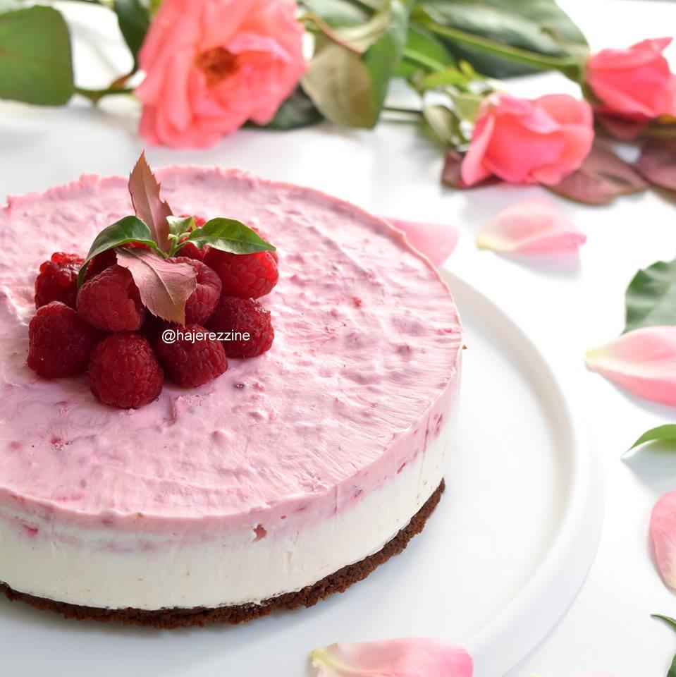 Just Say YUMMY !: Cheesecake framboise chocolat blanc
