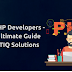 Hire PHP Developers - The Ultimate Guide TechTIQ Solutions
