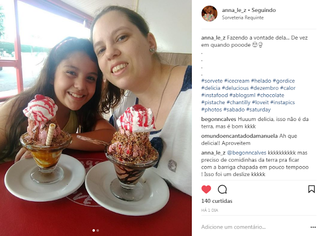 sorvete sorveteria filha amor sunday
