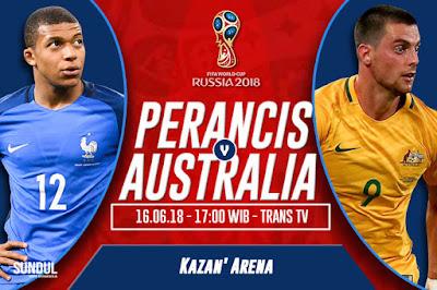 Tips Taruhan Bola Perancis vs Australia