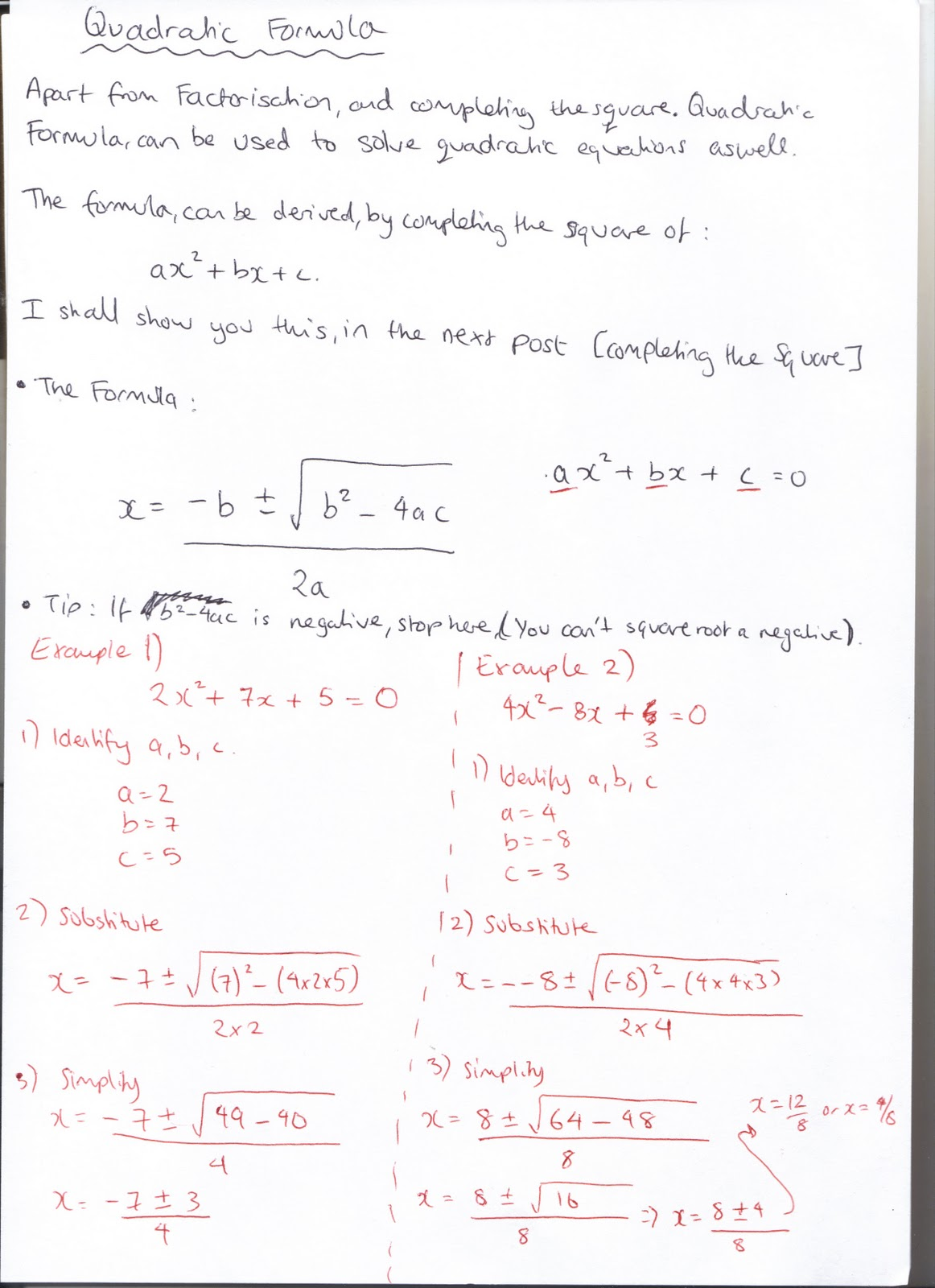 A-Level Mathematics: C1 - Algebra and Functions ...