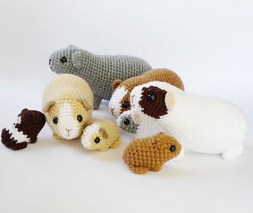 Newborn Guinea Pig - Free Pattern
