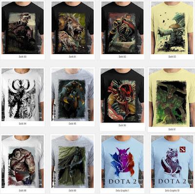 T Shirt DotA 2