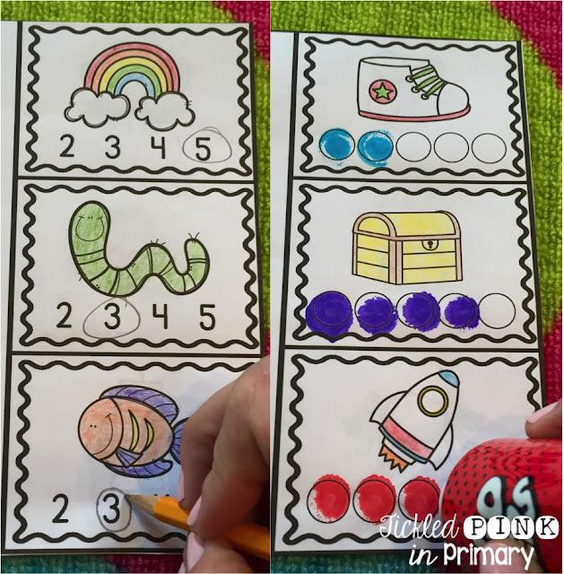 Tickled Pink in Primary Phoneme Segmentation for Kindergarten RTI – Phoneme Segmentation Worksheets
