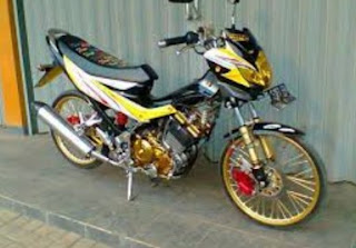 modifikasi satria fu 150 limited edition