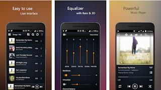 تطبيق PowerAudio Pro v5.5.0 المدفوع لتشغيل الموسيقي مجانا