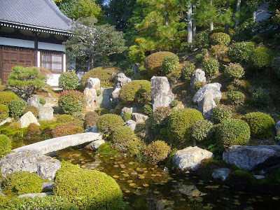 東福寺開山堂の庭園