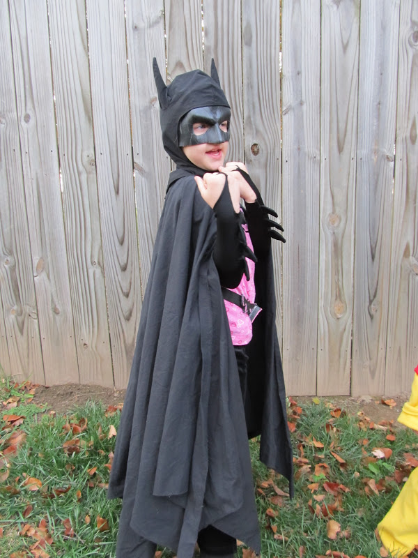 Finished Bat Costume
