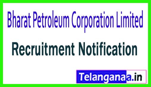 BPCL (Bharat Petroleum Corporation Limited) Recruitment Notifcation
