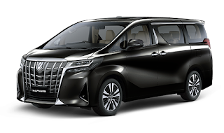 Toyota Alphard Warna Black