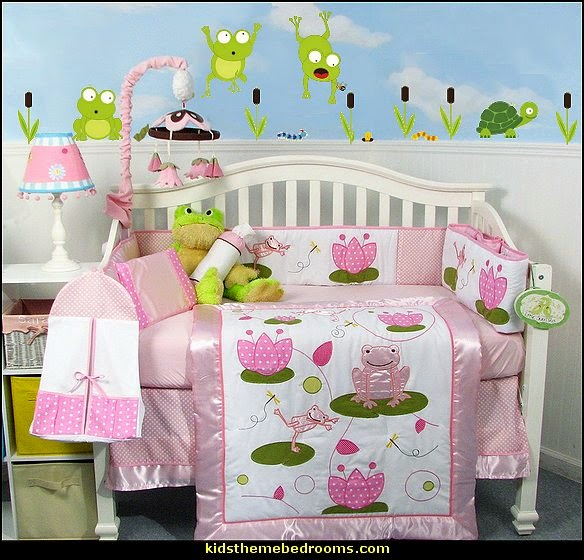 Angel Themed Design For A Baby Girl S Nursery: Decorating Theme Bedrooms