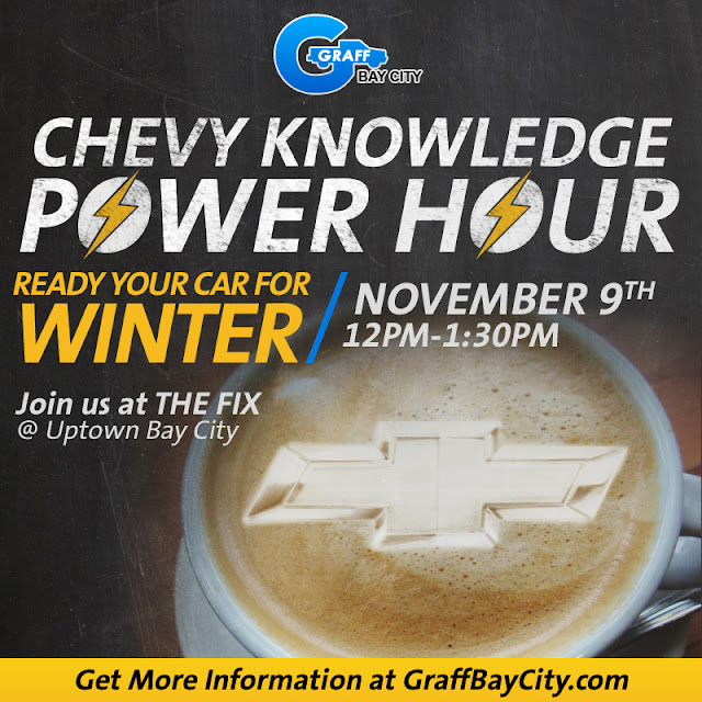 Learn How to Get Your Car Ready for Winter - November Chevy Power Hour