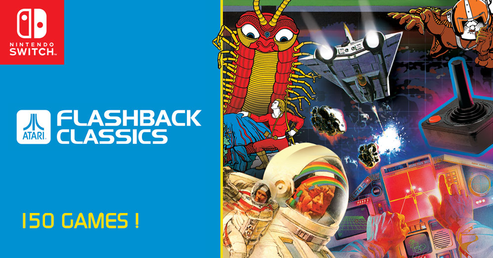 The Edge: We Review Atari Flashback Classics On Nintendo Switch