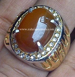 Cincin Batu Permata Raflesia Bengkulu - ZP 216