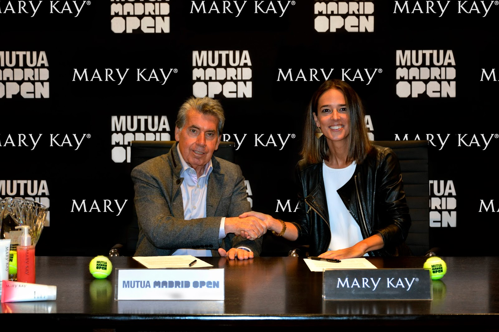 Mary Kay maquillador oficial de mutua open Madrid