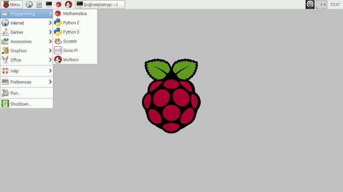 Raspberry Pi Perrot OS create new user