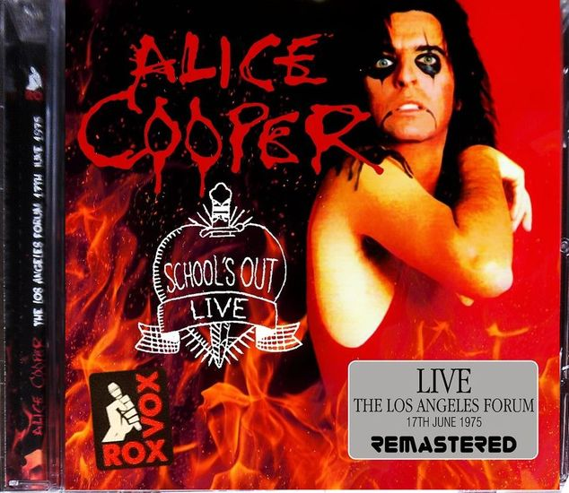 ALICE COOPER - School's Out Live: Los Angeles Forum '75 [Remastered] (2017) full