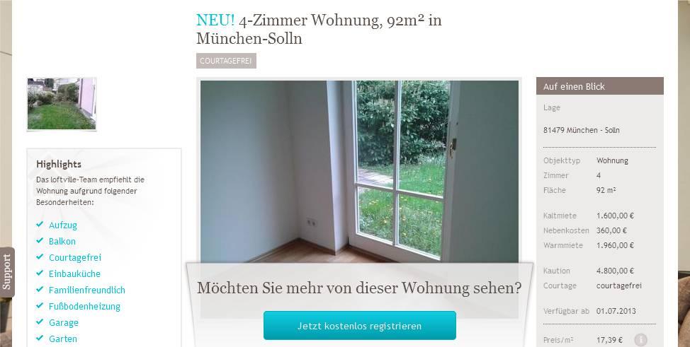 Alias frau kreuzer mobil for 4 zimmer wohnung munchen