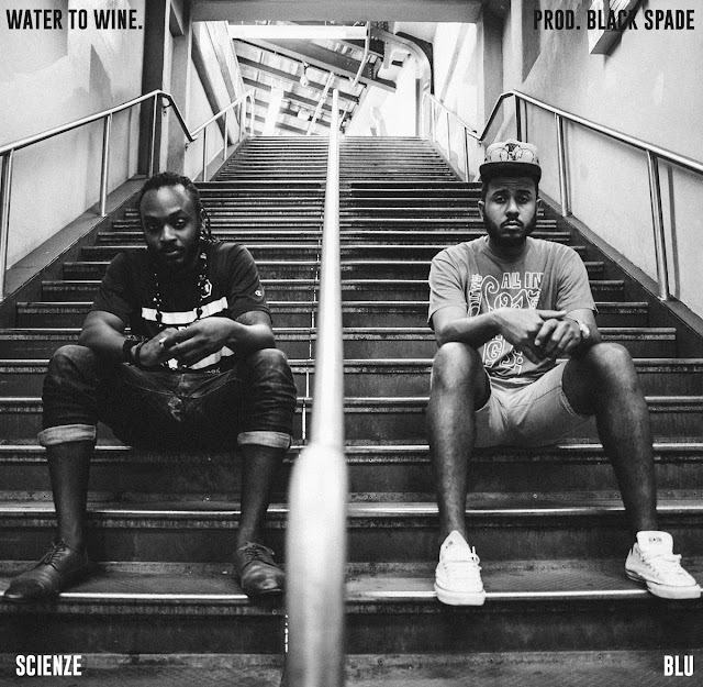 "ScienZe - ""Water To Wine"" f. Blu (prod. Black Spade)"