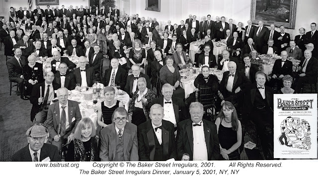 The 2001 BSI Dinner group photo