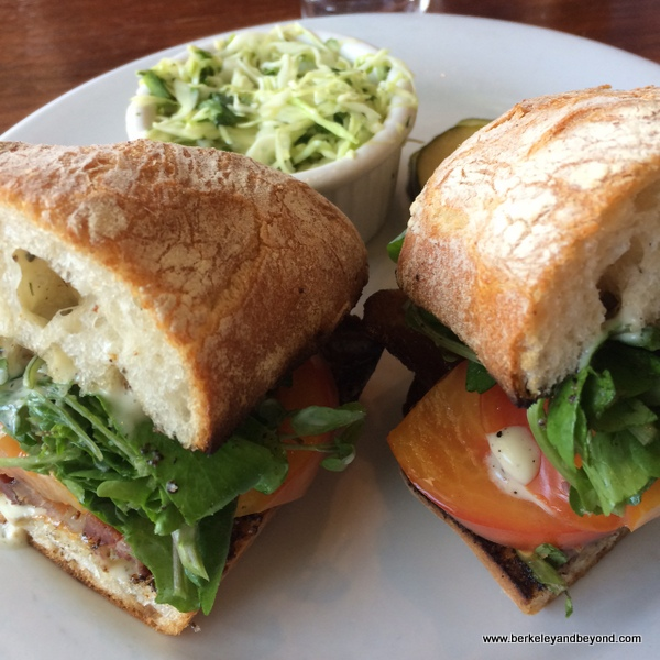 BLT at Wood Tavern in Oakland, California