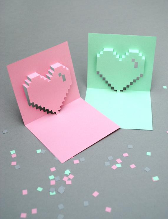 diy des cartes de st valentin imprimer initiales gg. Black Bedroom Furniture Sets. Home Design Ideas