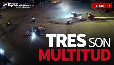 Vídeo: Tres son multitud