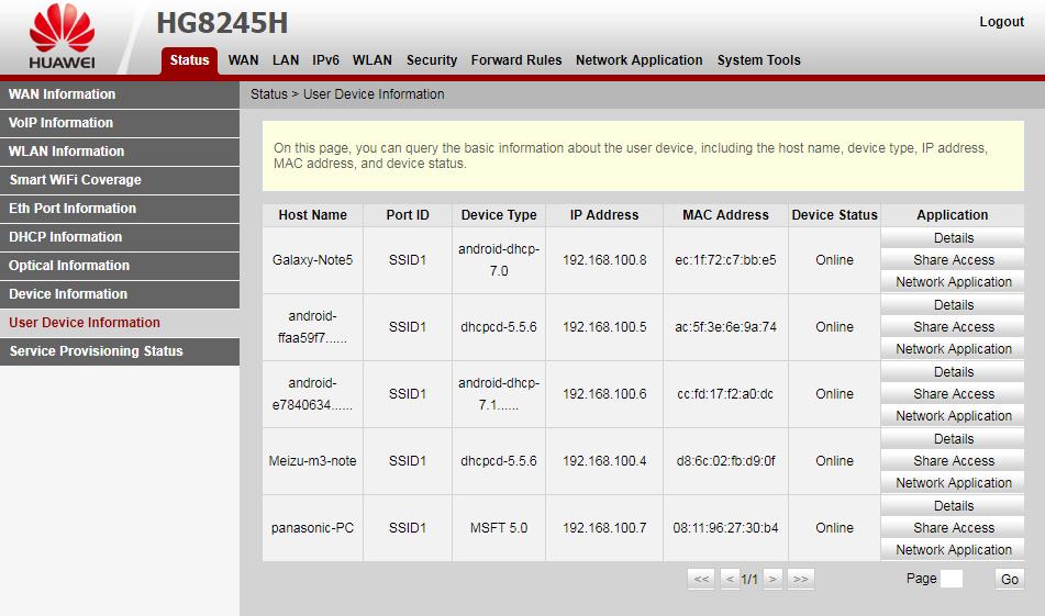cara memblokir pengguna wifi indihome huawei hg8245h