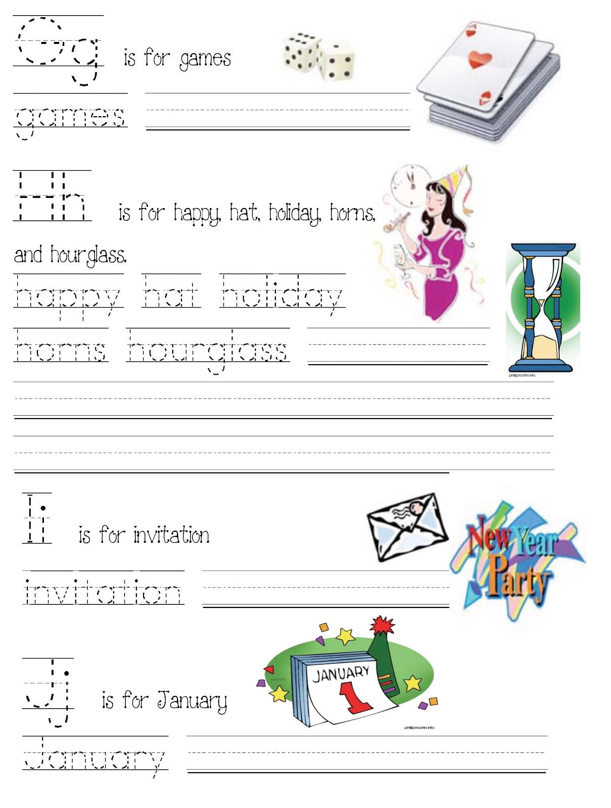 Classroom Freebies Happy New Year Abc Word Booklet