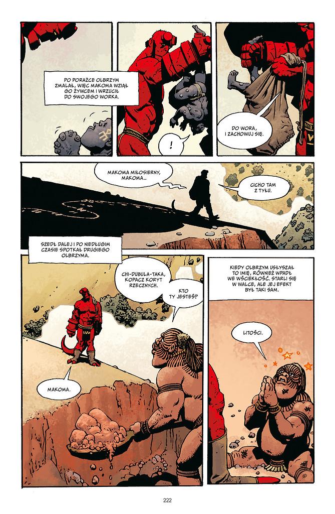 Hellboy tom 4 przykładowa strona