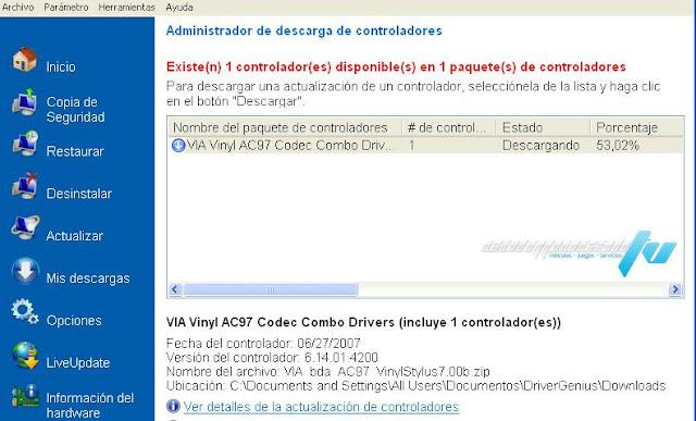 Driver Genius Professional Edition v11 Español Descargar 1 Link 2012