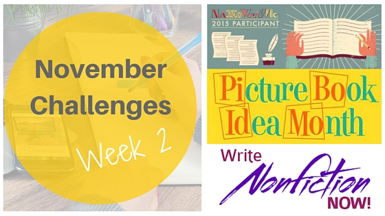 November Challenges: Progress Report Days 1- 7 #NaNoWriMo #WNFIN #PiBoIdMo