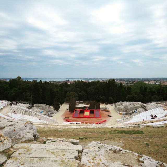 Road trip in Sicily - Greek Theatre in Siracusa