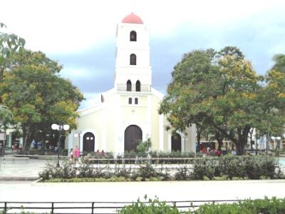 Parque José Martí, en Guantánamo