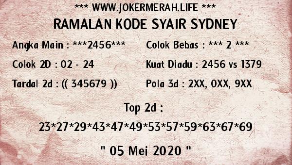 ramalan kode syair sdy joker merah