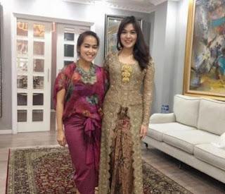 Foto Baju Kebaya Pernikahan Raisa Rancangan Vera Anggraini 2017