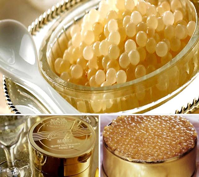 Almas Caviar adalah caviar paling mahal di dunia