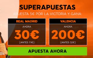 888sport superapuestas Real Madrid vs Valencia 1 diciembre