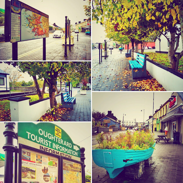 collage, autumn colours, oughterard, Galway